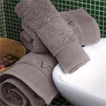 Πετσέτα Προσώπου 50x1.00 Elegante Grigio/Grey V19.69 Italia