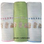 Πικέ βρεφική 1.10x1.60 κουβέρτα    3 αρκουδάκια DIM COLLECTIONS
