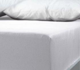 Σεντόνι υπέρδιπλο με λαστιχο Jersey White NEF-NEF