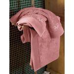 Πετσέτα Προσώπου 50x1.00 Elegante Mella/Dusty Pink V19.69 Italia