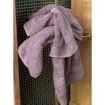 Πετσέτα Προσώπου 50x1.00 Elegante Narciso/Purple V19.69 Italia