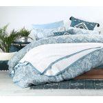 Κουβέρτα Υπέρδιπλη Βαμβακερή 2.30x2.40 Margo Natural NEF-NEF