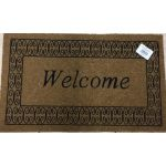 Πατάκι εισόδου 45x75 Welcome ΦΟΙΝΙΚΑΣ