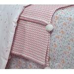 Βρεφική Κουβέρτα Κούνιας 1.10x1.50 Sometime Pink NEF-NEF