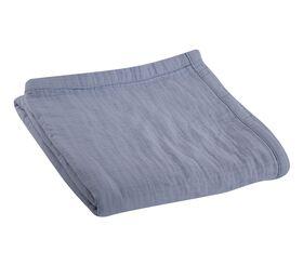 Κουβέρτα Βαμβακερή Υπέρδιπλη 2.30x2.40 Summer Time Light Blue NEF-NEF