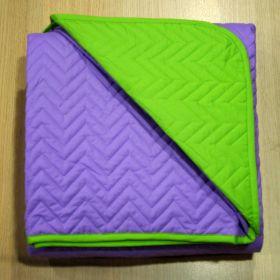 Κουβερλί Μονό 1.60x2.40  Lilac-Green ASTRON